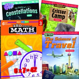 [118389 SHE] Learn at Home Explore Math Bundle Grade 3