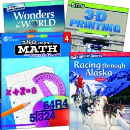 [118390 SHE] Learn at Home Explore Math Bundle Grade 4