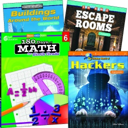 [118392 SHE] Learn at Home Explore Math Bundle Grade 6
