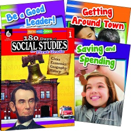 [118395 SHE] Learn at Home Social Studies Bundle Grade 1