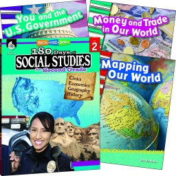 [118396 SHE] Learn at Home Social Studies Bundle Grade 2