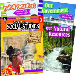 [118397 SHE] Learn at Home Social Studies Bundle Grade 3