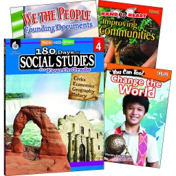 [118398 SHE] Learn at Home Social Studies Bundle Grade 4