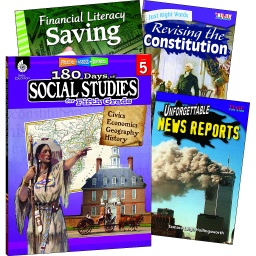 [118399 SHE] Learn at Home Social Studies Bundle Grade 5