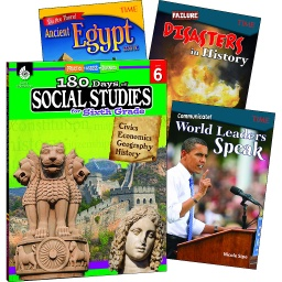 [118400 SHE] Learn at Home Social Studies Bundle Grade 6