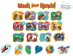 [110511 CD] One World Handwashing Bulletin Board Set