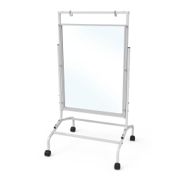 [CS7CLR CPN] Clear Dry Erase Single Room Divider