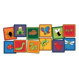 "[3895 CFK] Friendly Critters Seating Kit Set of 12, 16"" Squares"