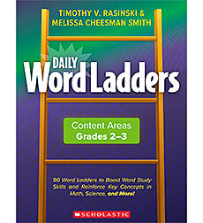 [862743 SC] Daily Word Ladders Content Areas Grades 2-3