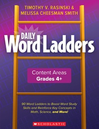 [862744 SC] Daily Word Ladders Content Areas Grades 4-6