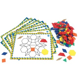 [6134 LER] Pattern Block Design and Discover Set