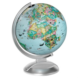 "[12534 RG] Globe 4 Kids with AR Feature 10"" Diameter"