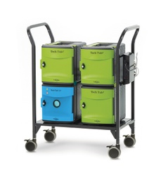 [FTT718USBUV CPN] Tech Tub2 Trolley with UV Tub Charges and Syncs 18 Devices