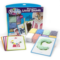 [1915 EI] Playfoam Shape & Learn Letter Sounds