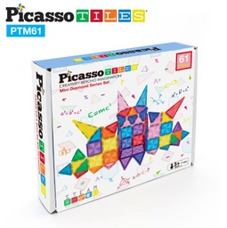 [PTM60 LAT] PicassoTiles Mini Diamond 60pc Set