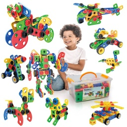 [PTN152 LAT] Engineering Construction 152-Piece Building Set