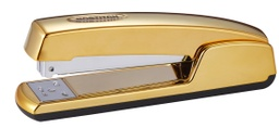 [B5000GOLD BOS] B5000 Professional Executive Stapler with Gold Chrome Finish