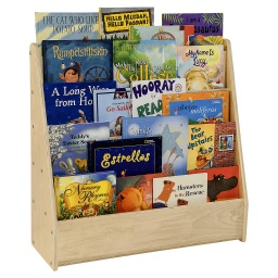 [C34330F WD] Contender Single Sided Book Display Fully Assembled