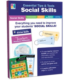 [849001 CD] Essential Tips & Tools Social Skills Classroom Kit Grade PK 8