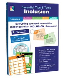 [849000 CD] Essential Tips & Tools Inclusion Classroom Kit Grade PK 8