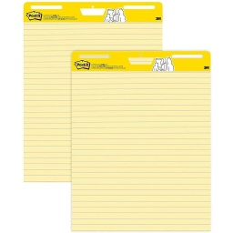 "[561 MMM] 2ct Post-It Super Sticky Easel Pads 25"" x 30"""