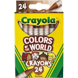 [520108 BIN] Crayola Colors of the World 24ct Crayons