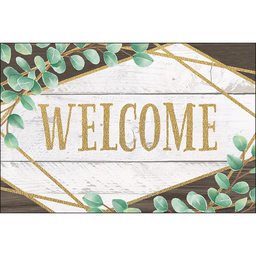 [8463 TCR] Eucalyptus Welcome Postcards