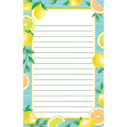 [8493 TCR] Lemon Zest Notepad