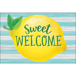 [8496 TCR] Lemon Zest Sweet Welcome Postcards