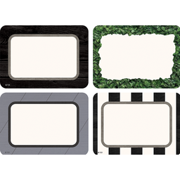[8527 TCR] Modern Farmhouse Name Tags Labels  Multi-Pack