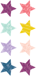 [8337 TCR] Oh Happy Day Stars Mini Stickers