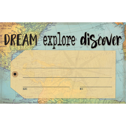 [8570 TCR] Travel the Map Dream Explore Discover Awards