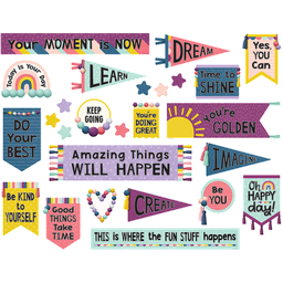 [9023 TCR] Oh Happy Day Positive Mini Bulletin Board