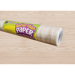 [77032 TCR] Light Maple Wood Better Than Paper Bulletin Board Roll