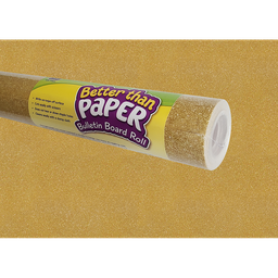 [77364 TCR] Gold Shimmer Better Than Paper Bulletin Board Roll