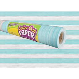 [77465 TCR] Vintage Blue Stripes Better Than Paper Bulletin Board Roll