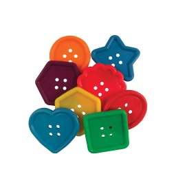 [20207 R] Roylco Softie Buttons 50ct Pack