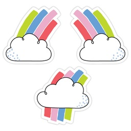 "[10431 CTP] Rainbow Skies 3"" Designer Cut-Outs"