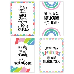 [10450 CTP] Rainbow Doodles 4-Poster Pack
