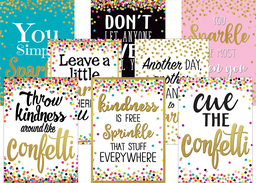 [2088539 TCR] Confetti Positive Poster Pack