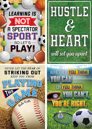 [2088535 TCR] Sports Quotes Positive Poster Pack