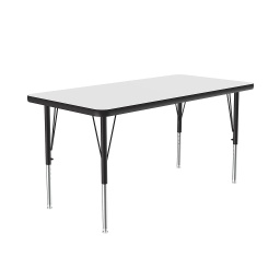 "[A2448DEREC80 COR] 24"" x 48"" Dry Erase Top High Pressure Activity Table"