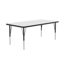 "[A3072DEREC80 COR] 30"" x 72"" Dry Erase Top High Pressure Activity Table"