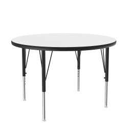 "[A36DERND80 COR] 36"" round Dry Erase Top High Pressure Activity Table"
