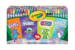 [523453 BIN] 96ct Crayola Special Effects Crayon Set