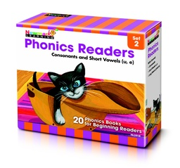 [5918 NL] Phonics Readers Boxed Set 2: Consonants and Short Vowels U, E