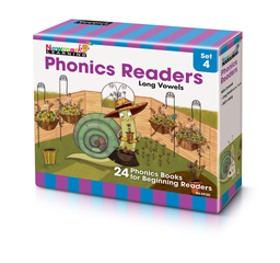[5920 NL] Phonics Readers Boxed Set 4: Long Vowels