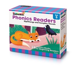 [5921 NL] Phonics Readers Boxed Set 5: Diphthongs and Complex Vowels