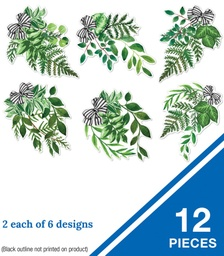 [120609 CD] Simply Boho Greenery Cut-Outs