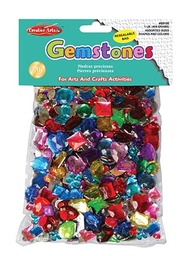 [59100 CLI] 1 lb Bag of Acrylic Gemstones Pack
